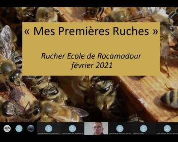 Visioconférence Rucher Ecole Rocamadour